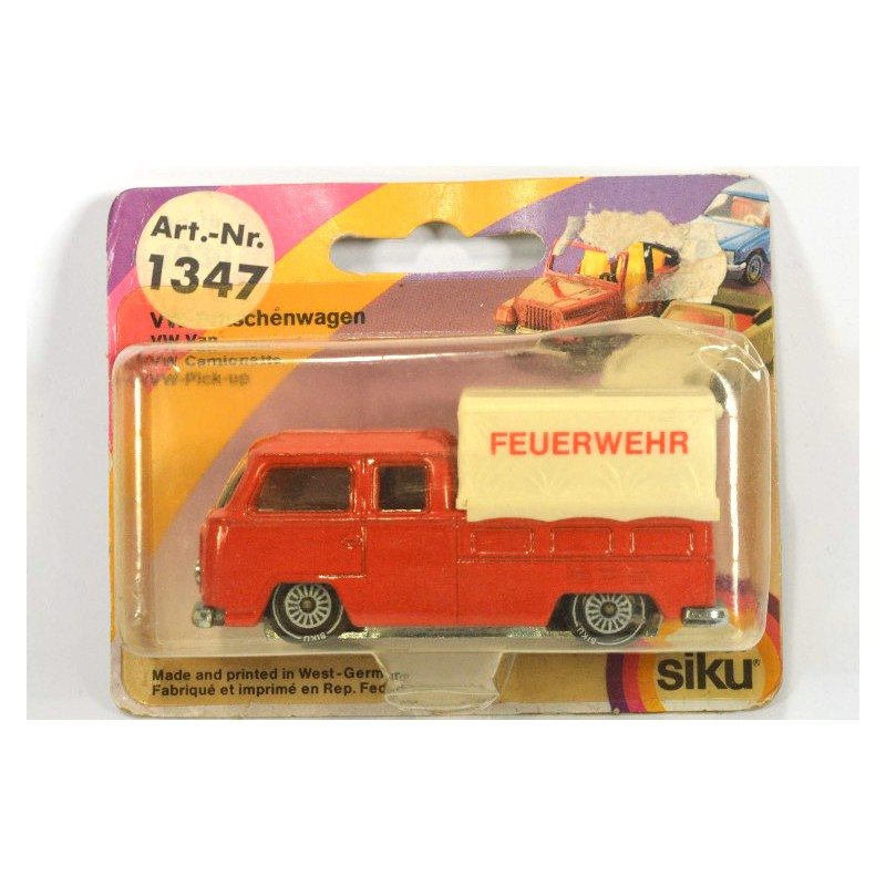 siku 1347 volkswagen t2 feuerwehr online siku museum. Black Bedroom Furniture Sets. Home Design Ideas