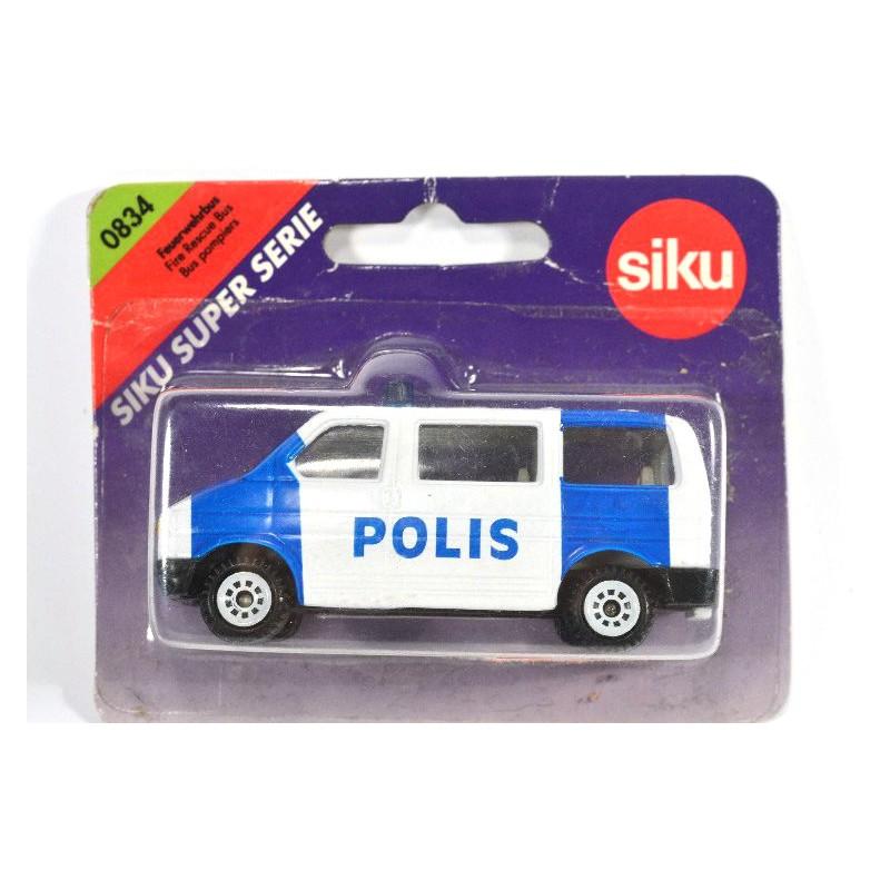 siku 834 s volkswagen t4 polis online siku museum. Black Bedroom Furniture Sets. Home Design Ideas