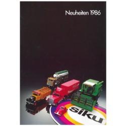 Neuheiten 1986