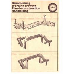 Construction manual footbridge