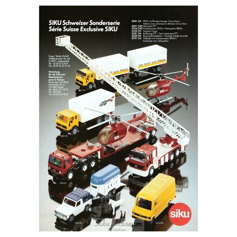 Swiss export models