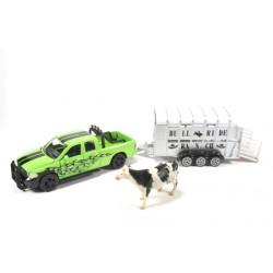 Dodge Ram 1500 met veetrailer