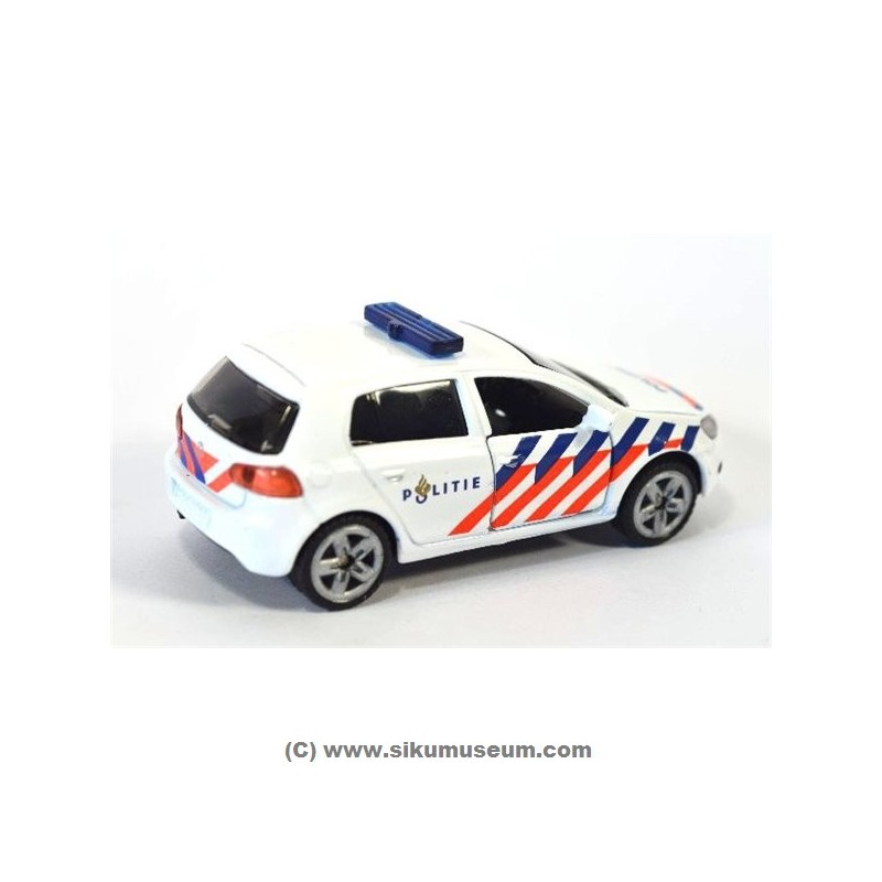 siku 1437 nl volkswagen golf politie online siku museum. Black Bedroom Furniture Sets. Home Design Ideas