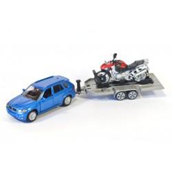 BMW X5 with motor