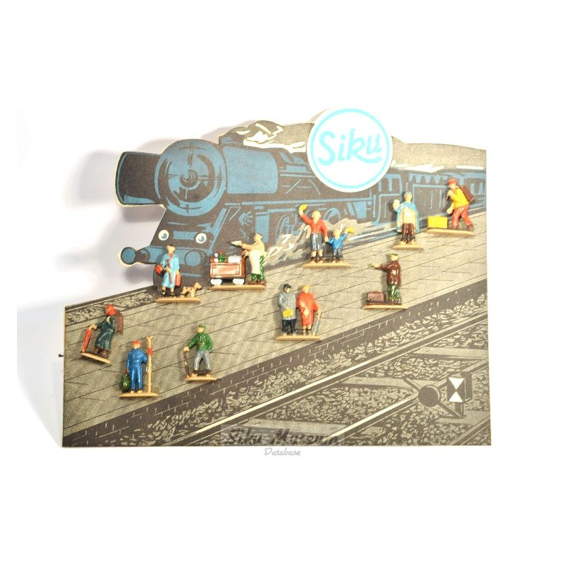 Karton met figuren I