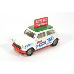 Mini Cooper Pizza Taxi