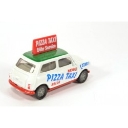 Mini Cooper Pizza Taxi