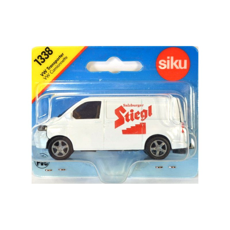 siku 1338 volkswagen t5 transporter stiegl online siku museum. Black Bedroom Furniture Sets. Home Design Ideas