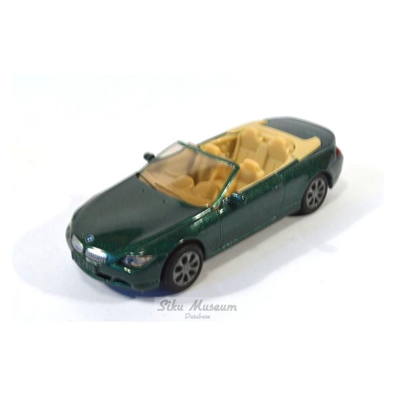 Siku 1007 BMW 645i Converible Cabrio Mint On Card