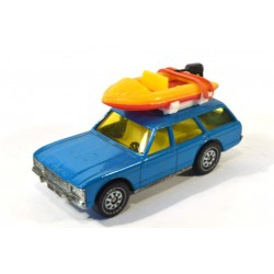 Ford Grenada with boat