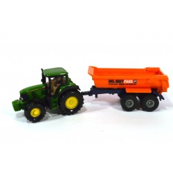 John Deere with tipping trailer HKL