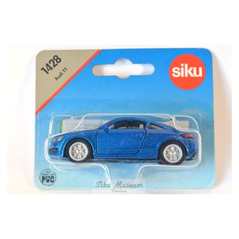 Siku 1428 Audi TT dunkelgrau Spielzeugautos