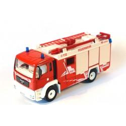 MAN TGA 18.410 bluswagen