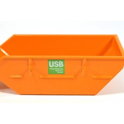 Roll off container USB
