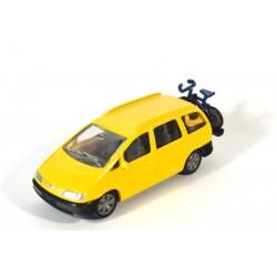 Volkswagen Sharan with bike