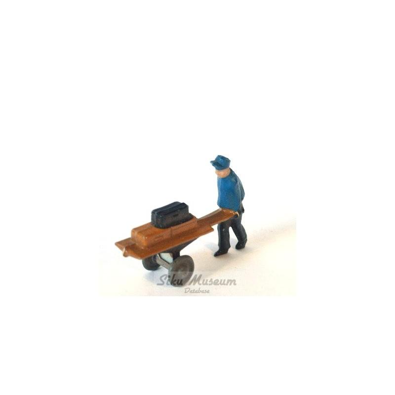 Gepäckträger mit Karre