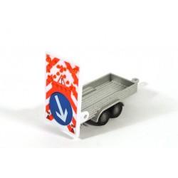 Traffic control trailer