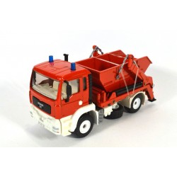 MAN TGA 18.410 container transporter Feuerwehr