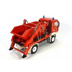 MAN TGA 18.410 afzetcontainer Feuerwehr