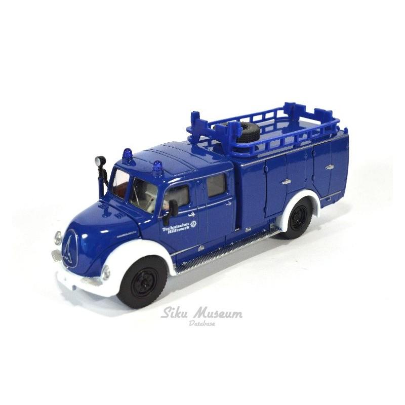 Magirus Rundhauber Fire Engine THW