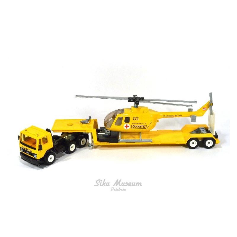 Ford Cargo mit Hubschrauber ÖAMTC