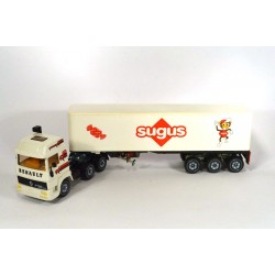 Renault Turbo with trailer SUGUS