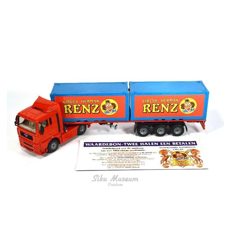 MAN TGA containertransport RENZ
