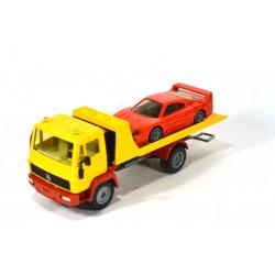 Mercedes LN 2 car transporter