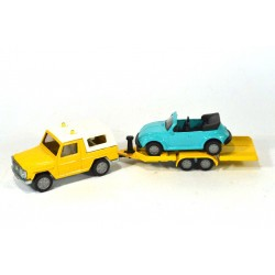 Mercedes GE met auto ambulance