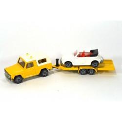 Mercedes GE with car transporter