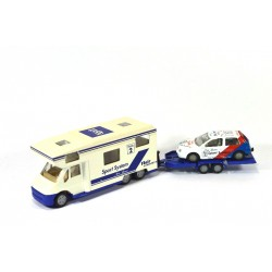 Iveco Ducato camper with Golf UPAT