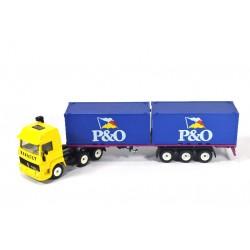 Iveco containertransport P&O