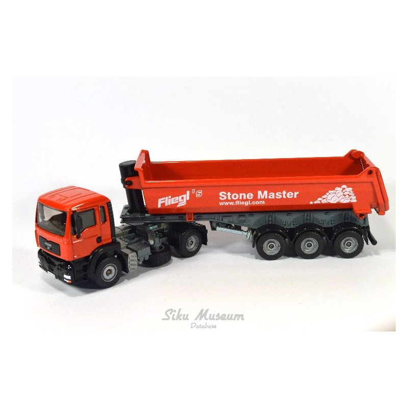 MAN TGA with tipping trailer