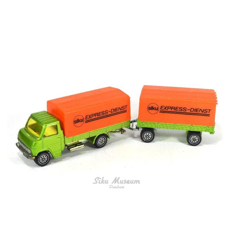 Hanomag-Henschel with trailer
