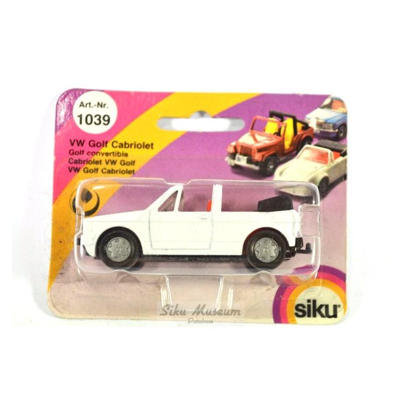 siku 1039 volkswagen golf i cabrio online siku museum. Black Bedroom Furniture Sets. Home Design Ideas