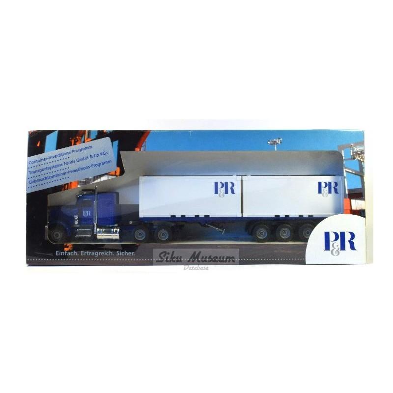 Peterbilt containertransporter P&R