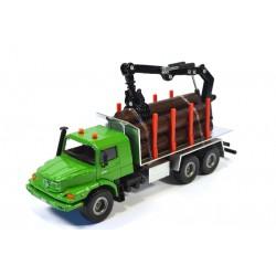 Mercedes Zetros Log transporter