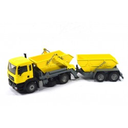 MAN TGA with containers and trailer