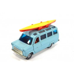 Ford Transit with canoe