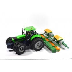 Deutz Fahr Agrotron 210 met Amazone zaaimachine