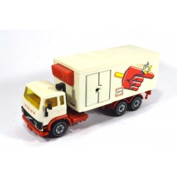 Volvo F7 turbo refrigerator truck Langnese