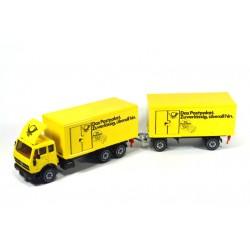 Mercedes 2232 parcel transport