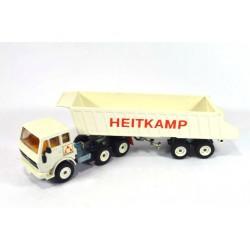 Mercedes 2232 tipping trailer Heitkamp
