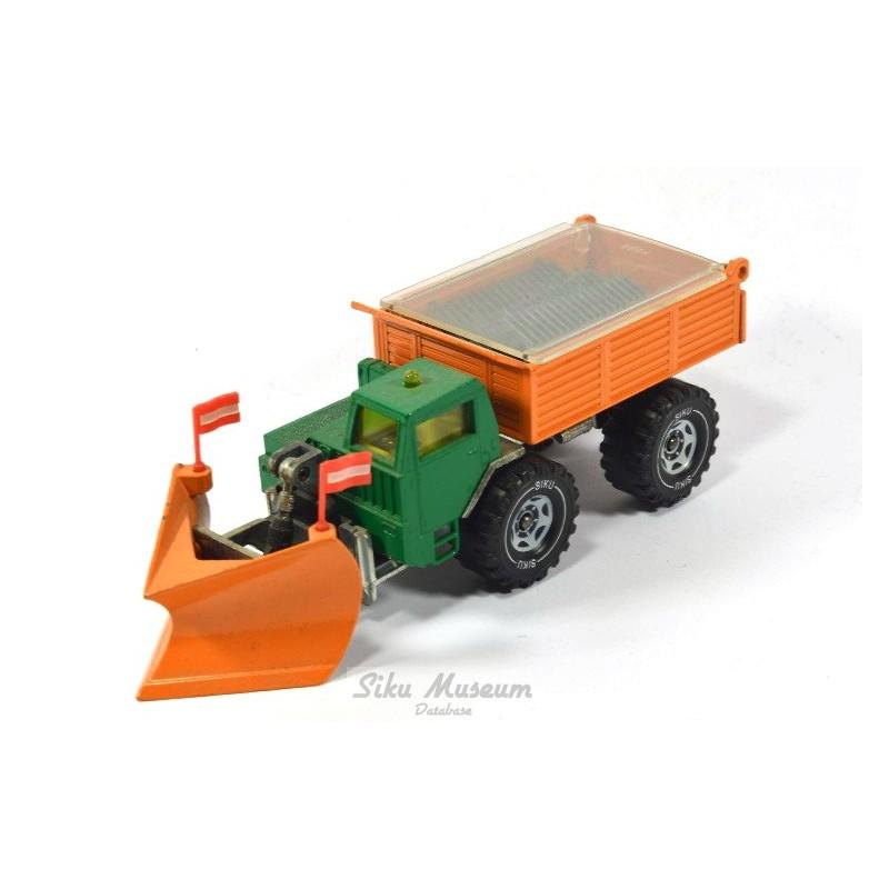Faun snow plough