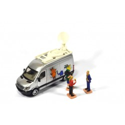 Mercedes Sprinter televisiewagen