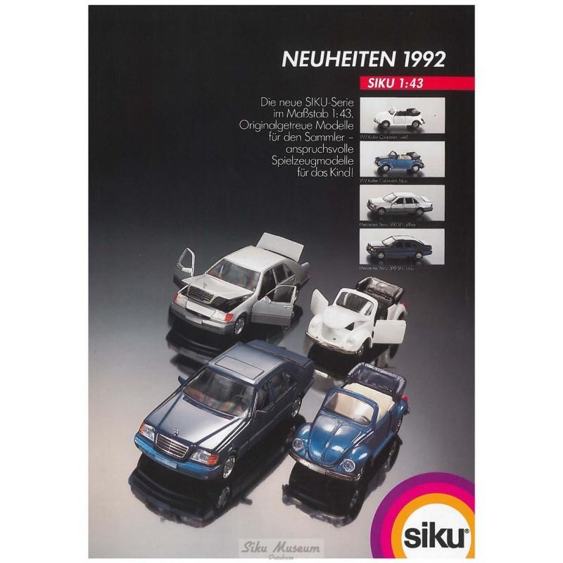 Neuheiten 1992