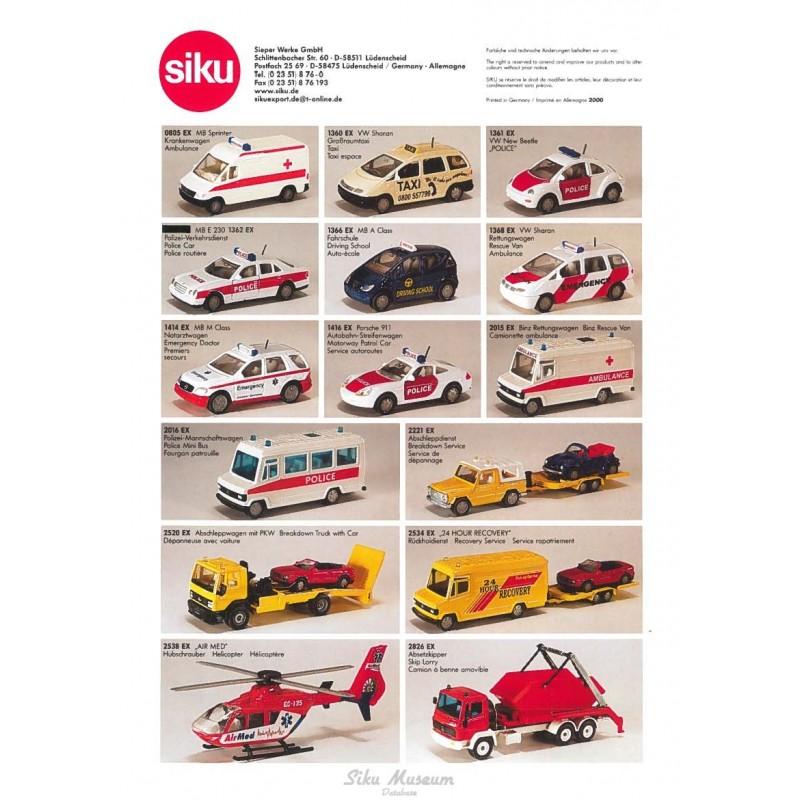 Export models 2000