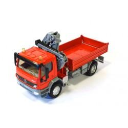 Mercedes Atego with crane