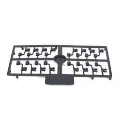 Sprue with mirrors