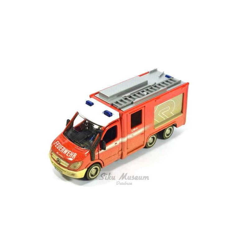 Mercedes-Benz Sprinter 6x6 Feuerwehr Interschutz 2015